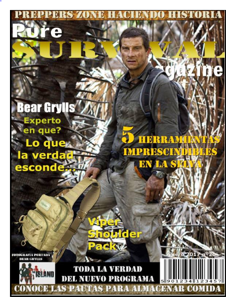 1a edición Pure Survival Magazine