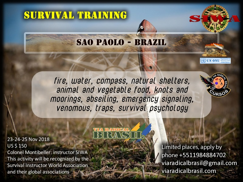 Survival Training Sao Paolo-Brazil