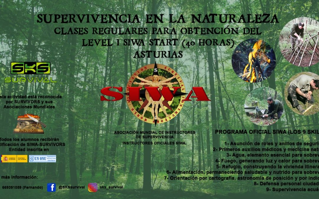 Supervivencia en la naturaleza -SIWA Start Level I